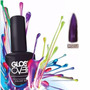 Esmalte Gel Uñas Tipo Gelish Gloss Over Color Morado Magic
