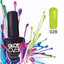 Esmalte Gel Uñas Tipo Gelish Gloss Over Color Bright Yellow