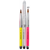 Pincel Kolinsky Akemi Stylus Brush #6 Mc Nails