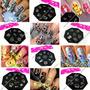 Placas Konad De Personajes Hello Kitty Y Mas Sellos Uñas