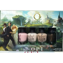 Esmaltes Opi Dcp21 - Oz Collection Mini Set 4 De 3.75ml