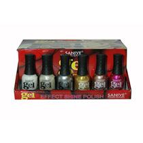 Esmalte Para Uñas Saniye N8302 #002 (caja Con 24 Piezas)