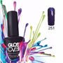 Esmalte Gel Uñas Tipo Gelish Gloss Over Color Amy Azul 15ml