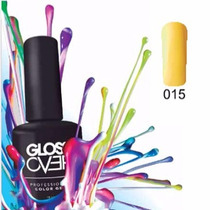 Esmalte Gel Uñas Tipo Gelish Gloss Over Lemon Pastel 15ml
