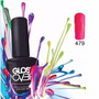 Esmalte Gel Uñas Tipo Gelish Gloss Over Color Pink Flamingo