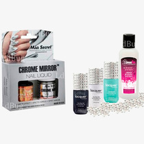 3 Lacquer Evolution+ Esmalte Efecto Espejo+luxury+cleanser