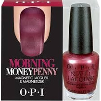 Esmalte Opi Hld42 Morning Money Penny Magnetic Lacquer 15ml