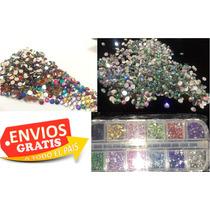 4,400 Piedra Cristal Envio Gratis Uñas Acrilico Swarovski