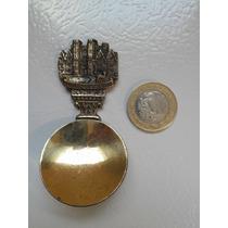 Bronce Cuchara Decorativa Con Imagen De Un Castillo Knole