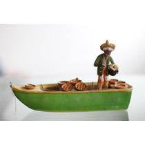 Figura De Barro Antigua, Artesanía Antigua Alta Calidad