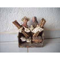 Antigua Figura Viejitos Para Decorar Vintage