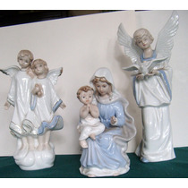 Figuras De Porcelana China Royal Crown Antiguas Angeles