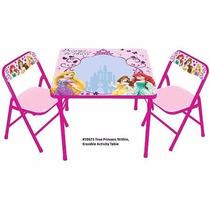 Mesa De Actividades Con Marcadores Disney Princesas