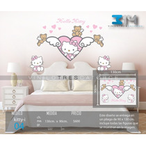 Kitty-04 Vinilo Decorativo Hello Kitty. Calcomanía De Pared