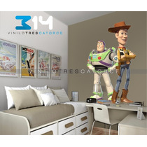 Vinilo Decorativo Toy Story-i 07, Calcomanía De Pared Buzz.