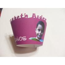 24 Capacillos Cupcakes Personalizados Con Foto Super!!! Au1