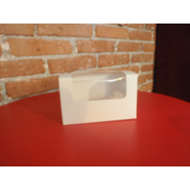 Paquete Con 5 Cajas Para Cupcakes Y Kekitos Para 2 Cup.