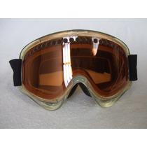 Lentes Goggles Oakley De Patinaje Moto Snowboarding Amarillo