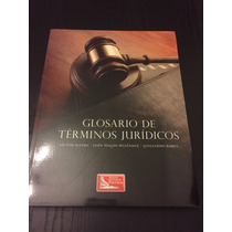 Glosario De Términos Jurídicos