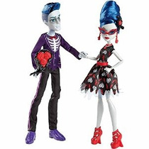 Monster High - Not Dead 2 Paquete De Amor Con Slo Mo Y Ghoul