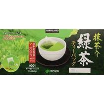Kirkland Ito En Matcha Mezcla Japonesa Té Verde-100 Ct