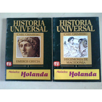 Lote De Dos Revistas De Historia Universal Grecia Macedonia