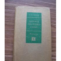 Historia Del Pueblo Chino-aut-l.c. Goodrich-ed-f.c.e.-hm4
