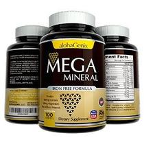 Mega Mineral Completa Todo En Uno Suplemento I Hierro-grat