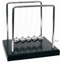 Qiyun Newtons Cradle Balance Balls 7 1/4 Pulgadas