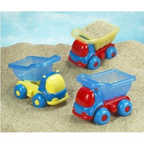 Small World Toys Sand & Water - Peek-a-boo Camión Volquete -