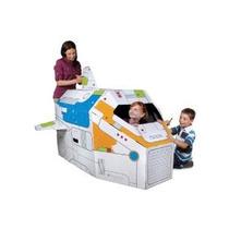Discovery Kids 5-ft. Rocket Ship Cartón Idea Del Regalo De C