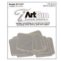 Artbin Inhibidor Deslustre Divisor 12-pack Adapta Plata 6857