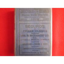 Historia Empresas Comerciantes Publicidad Estados 1922.