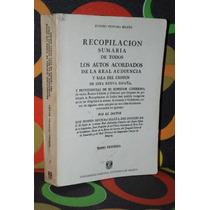 Eusebio Ventura Beleña Recopilación Sumaria De Todos ...
