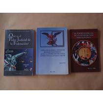 3 Libros Del Poder Judicial Del 2004, 2005 Y 2006 13 X 21 Cm