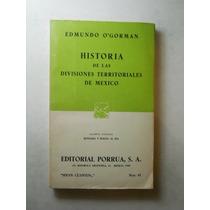 Hist De Las Divisiones Territoriales En Mel Envio Gratis