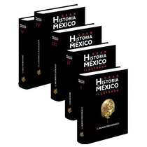 Gran Historia De México Ilustrada 5 Vols + 1 Cd Planeta
