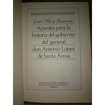 Chambajlum Bustamante Gobierno Antonio Lopez Santa Anna