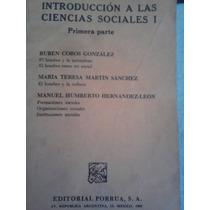 Introduccion A Las Ciencias Sociales 1, Ruben Cobos