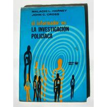 Malachi L. Harney La Investigacion Policiaca Libro 1971
