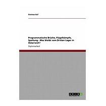Programmatische Bruche, Flugelkampfe, Spaltung, Dietmar Ruf