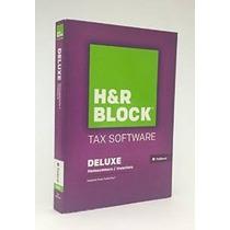 Sólo H & R Impuesto Bloquear Software Deluxe 2015 Federal