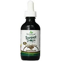 Dulce Líquido Gotas Stevia Chocolate 2 Onza