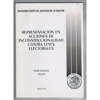Inconstiucionalidad Contra Leyes Electorales