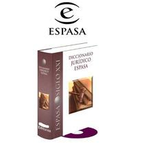 Diccionario Juridico Espasa 1 Vol