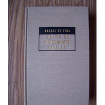 Código De Procedimientos Civiles-rafael De Pina-p.dura-vbf