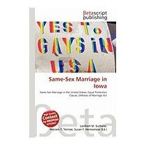 Same-sex Marriage In Iowa, Lambert M Surhone