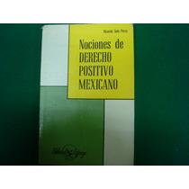 nociones de derecho positivo mexicano gustavo carvajal pdf