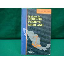 Ricardo Soto Pérez, Nociones De Derecho Positivo Mexicano.