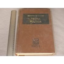 Héctor González Uribe, Teoría Política, Editorial Porrúa.